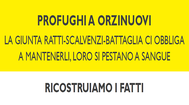 PRESUNTI PROFUGHI SI PESTANO A SANGUE A ORZINUOVI (BS)