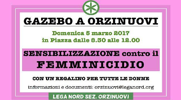 NO AL FEMMINICIDIO E ALLA VIOLENZA SULLE DONNE